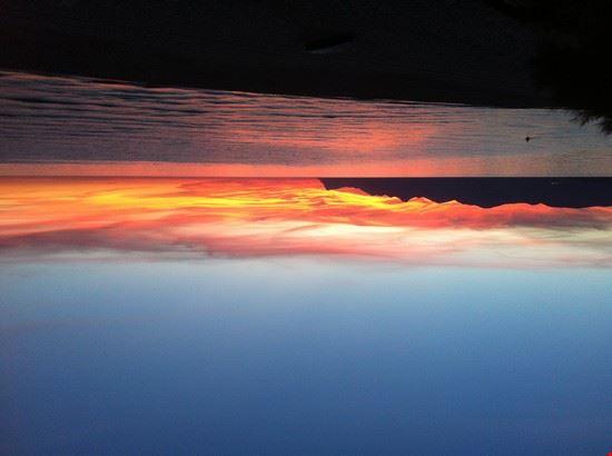 Alcamo Marina, tramonto d'estate