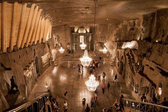miniera di sale di wieliczka cracovia
