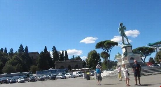 Nel Piazzale Michelangelo