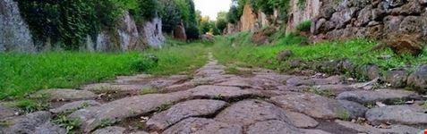 civita castellana basolato sulla via amerina