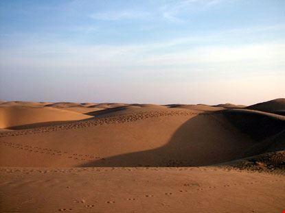 jaisalmer dune di sabbia