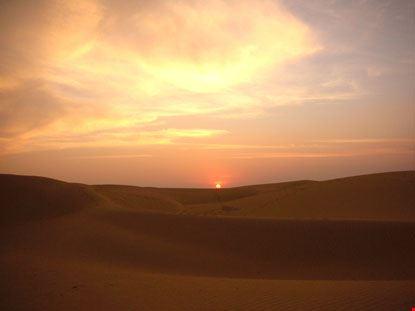 jaisalmer tramonto suggestivo