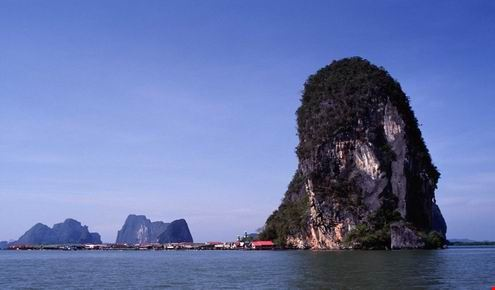 Ko Pan Yi, an island in Ao Phang-nga National Park, Phang-nga