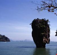 "The world famous ""Ko Tapu"" in Ao Phang-nga National"