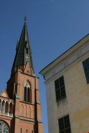 uppsala chiesa di steeple