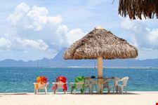 papeete polynesian beach
