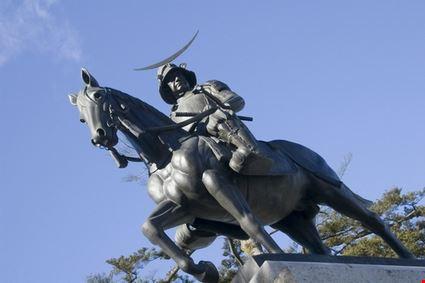 Date Masamune Monument