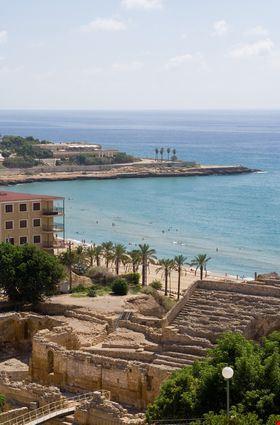 tarragona the beach