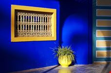Window and planter at the Majorelle Gardens