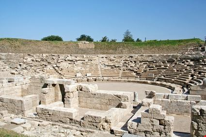 larissa ancient greek amphitheater