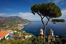 Amalfi Coast From Rufolo Gardens