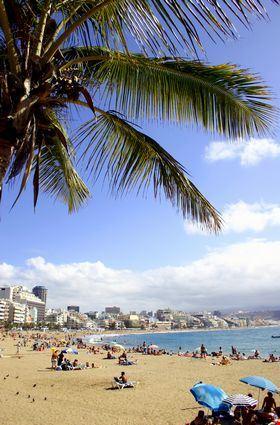 las palmas de gran canaria city beach