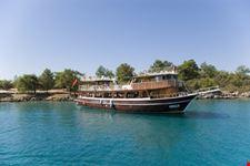 marmaris boat at paradise bay