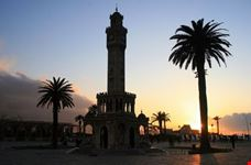 izmir old clock tower