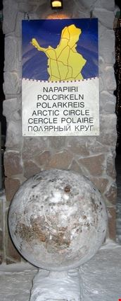 Arctic circle border