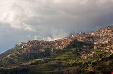 Winter resort on mountain Parnassos