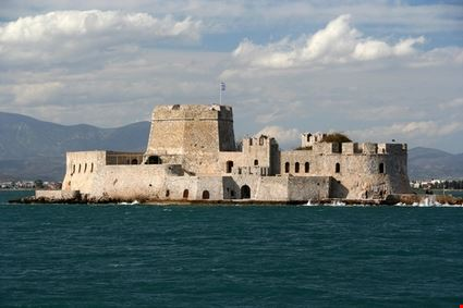 nafplio the castle island of bourtzi