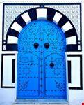 Decorated Mediterranean Door