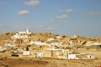 Arab Village in Southern Tunisia