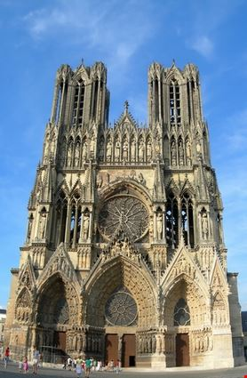 reims gothic cathedral