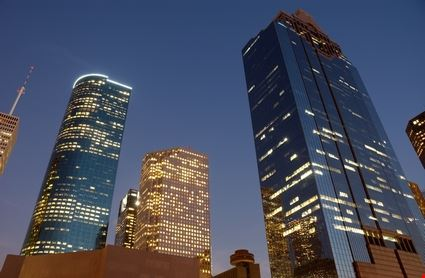 Houston at Dawn