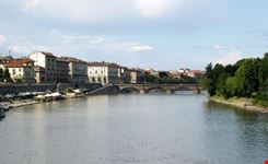 View of River Po in Turin
