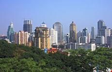 nanjing cityscape view of nanjing