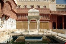 Inside Junagarh fort