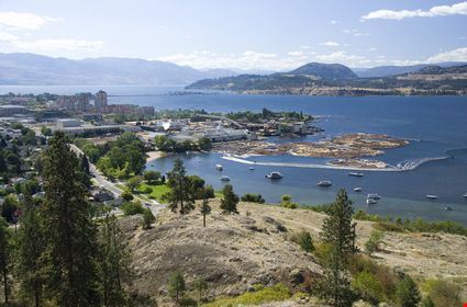 View of Sutherland Bay and downtown