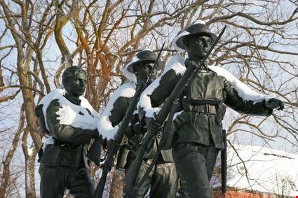 WWI Memorial Monument