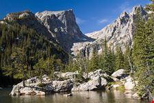 Dream Lake and Hallett Peak