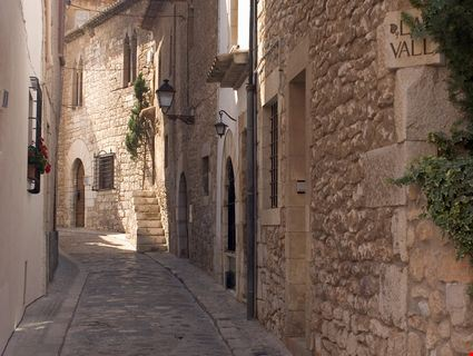 Narrow lane in the town