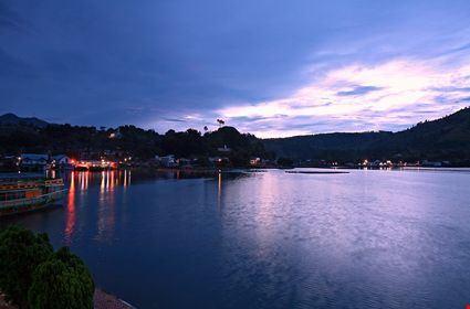Sunrise over Lake Toba
