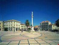 Main square in Setubal