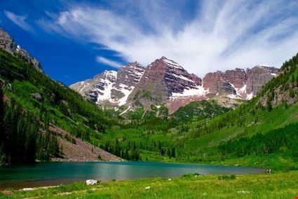 Maroon Bells Mountain Peaks
