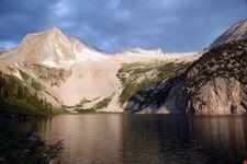 Mountain and Lake near Aspen