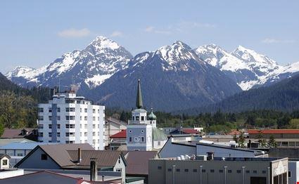 City Downtown, Alaska.