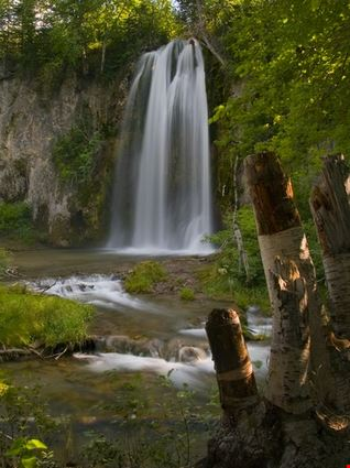 Spearfish Falls - The Black Hills