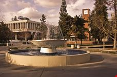 The Student Union and bookstore at California State University
