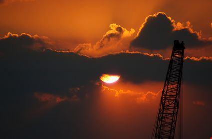 Sunset in Huntsville