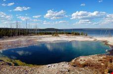 Yellowstone lake west thumb