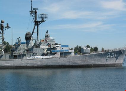 Historic naval ship