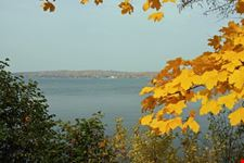 View of the Lake in the fall