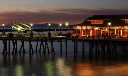 Pier at Redondo Beach California