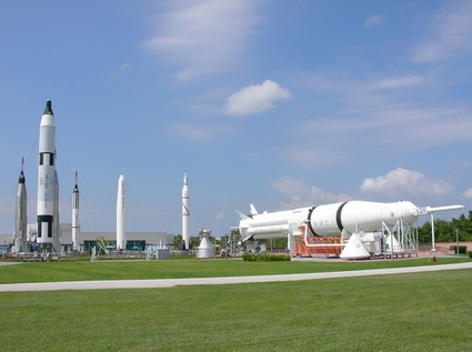 Cape May Hotels >> Rocket Garden - Cape Canaveral Museums