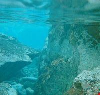 15082 isola di lipari fondali cristallino ma purtroppo niente pesci