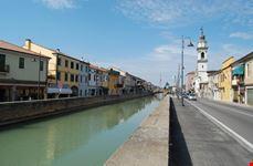 Il canale Bisato nel centro storico