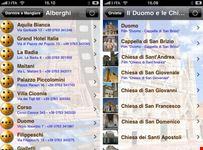 Applicazione Orvieto per iPhone