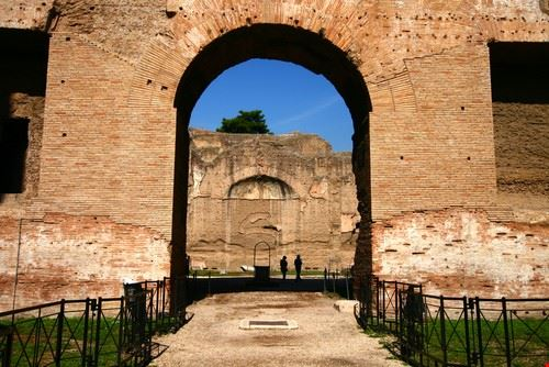 15478 roma terme di caracalla