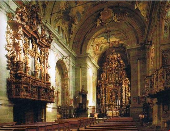 Interno del Santuario della Beata Vergine delle Grazie